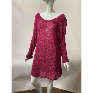 Coldwater Creek Fuschia Sweater – Plus Sized